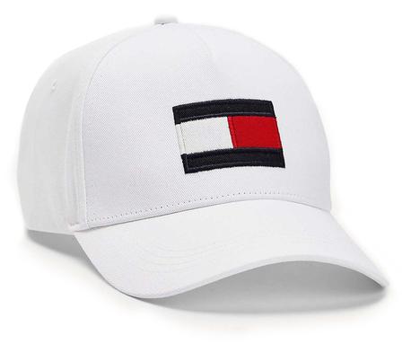 CZAPKA Z DASZKIEM Tommy Hilfiger BIG FLAG CAP (1)
